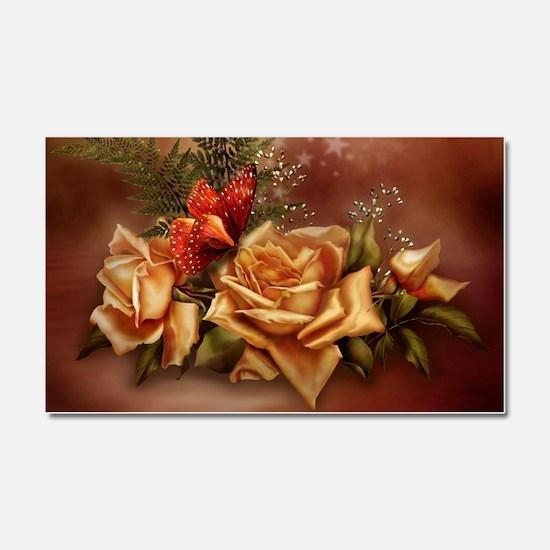 Romantic Rose Fantasy Car Magnet 20 x 12