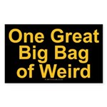 Bag of Weird Rectangle Sticker