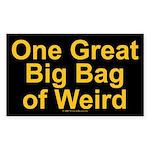 Bag of Weird Rectangle Sticker
