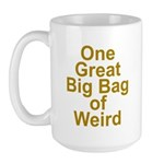 Bag of Weird Large Mug