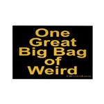 Bag of Weird Rectangle Magnet (100 pack)
