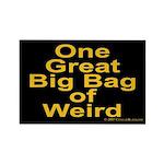 Bag of Weird Rectangle Magnet (100 pack)
