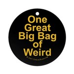Bag of Weird Ornament (Round)