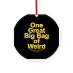 Bag of Weird Ornament (Round)