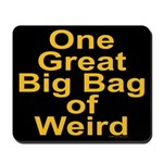 Bag of Weird Mousepad