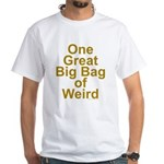 Bag of Weird White T-Shirt