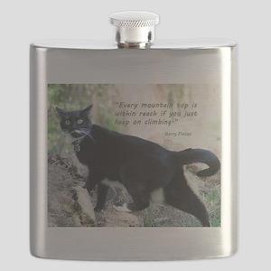 Mounteneering cat Flask
