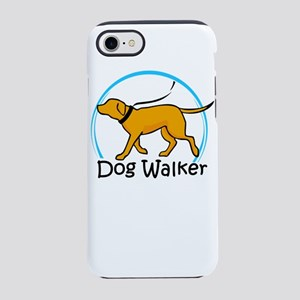 dog walker iPhone 8/7 Tough Case