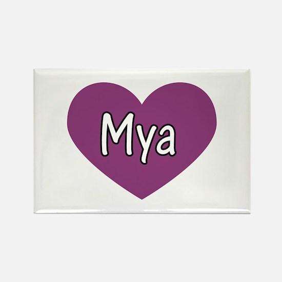 Mya Rectangle Magnet