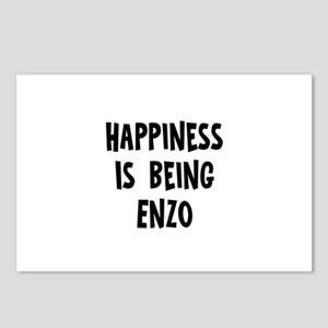 Happiness is being Enzo Postcards (Package of 8)