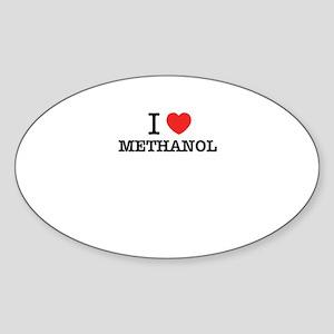I Love METHANOL Sticker