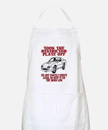 RESTRICTOR PLATE OFF.. BBQ Apron