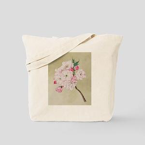 God of Longevity Cherry Blossoms Tote Bag