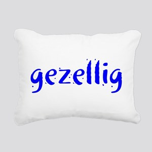 gezellig Rectangular Canvas Pillow