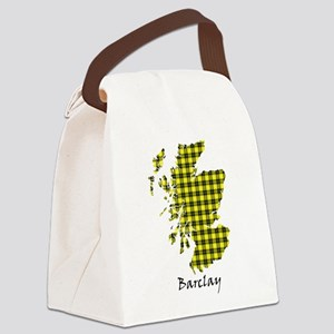 Map - Barclay dress Canvas Lunch Bag