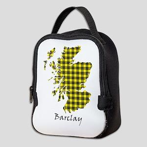 Map - Barclay dress Neoprene Lunch Bag