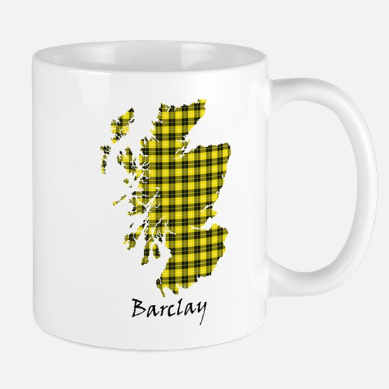 Map - Barclay dress Mug