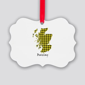Map - Barclay dress Picture Ornament