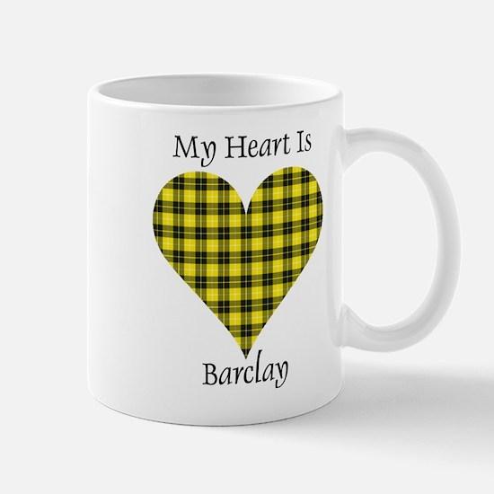 Heart - Barclay dress Mug
