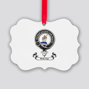 Badge - Barclay Picture Ornament