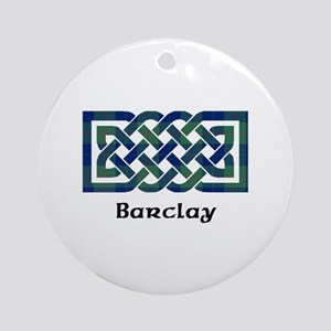 Knot - Barclay Round Ornament