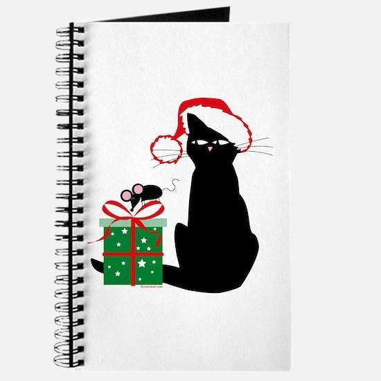 Santa Cat & Mouse Journal