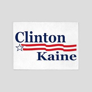 Clinton Kaine Campaign 5'x7'Area Rug