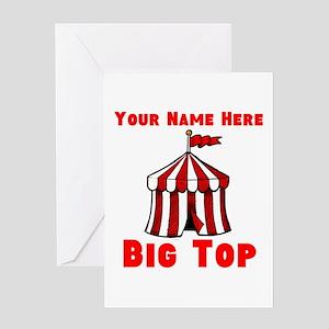 Custom Circus Greeting Cards