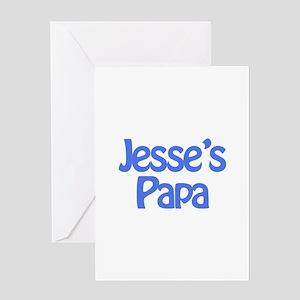 Jesse's Papa Greeting Card