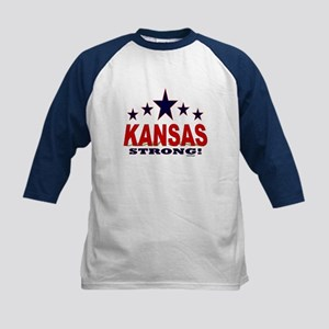 Kansas Strong! Kids Baseball Tee