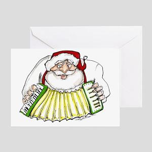 Cajun christmas greeting cards cafepress 4 3 zydeco greeting cards m4hsunfo