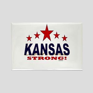 Kansas Strong! Rectangle Magnet
