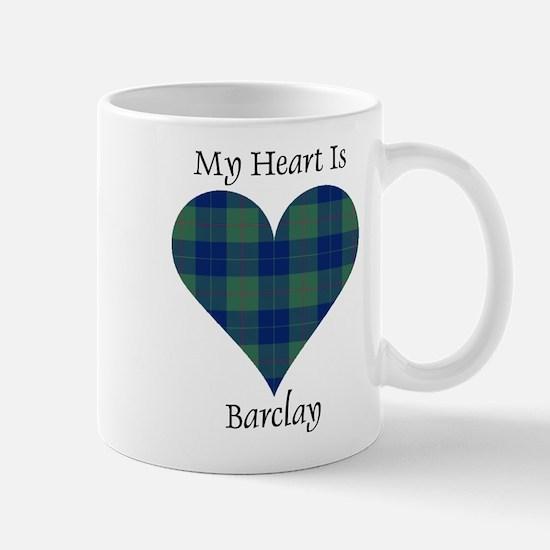 Heart - Barclay Mug