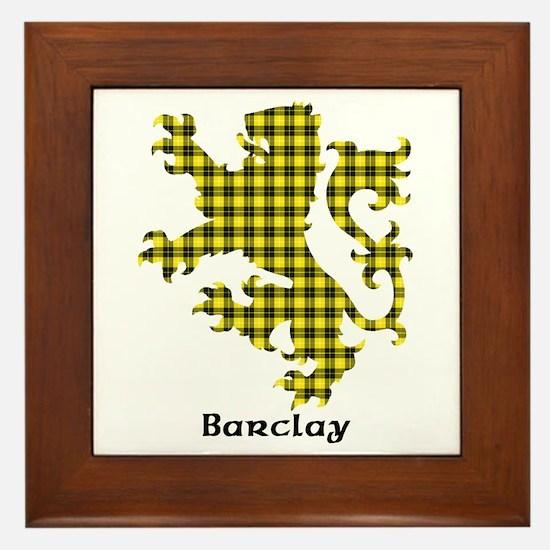 Lion - Barclay dress Framed Tile