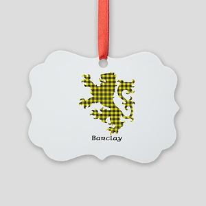 Lion - Barclay dress Picture Ornament