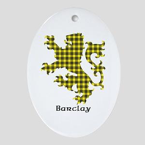 Lion - Barclay dress Oval Ornament