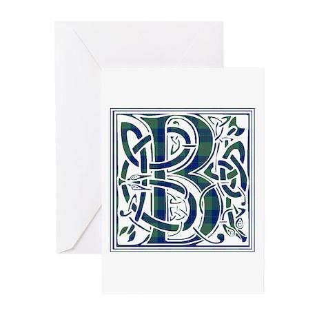 Monogram - Barclay Greeting Cards (Pk of 10)