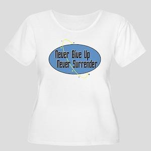 Never Surrender 2 Plus Size T-Shirt