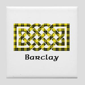 Knot - Barclay dress Tile Coaster