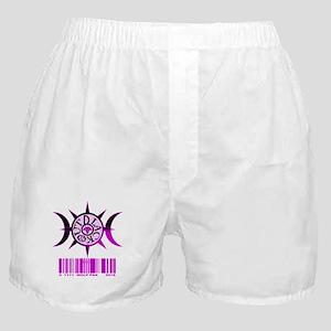 1111 Wolf Pak Purple Boxer Shorts