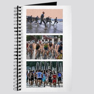 GROUP TRIATHLON TRIPTYCH PAINTING Journal