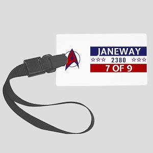 Star Trek - Janeway/7 2380 Large Luggage Tag