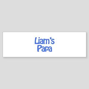 Liam's Papa Bumper Sticker