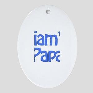 Liam's Papa  Oval Ornament