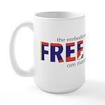 Free Tibet: Large Mug