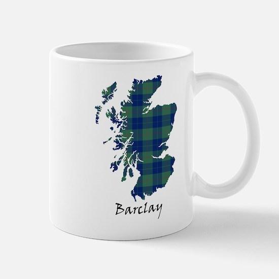 Map - Barclay Mug