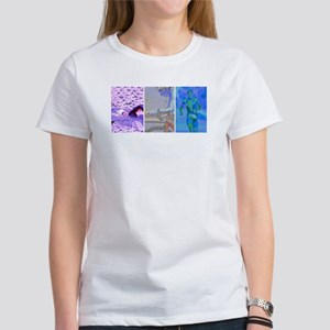 SOLO TRIATHLON TRIPTYCH PAINTING 2 Women's T-Shirt
