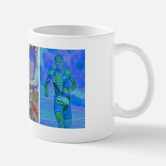 SOLO TRIATHLON TRIPTYCH PAINTING 2 Mug