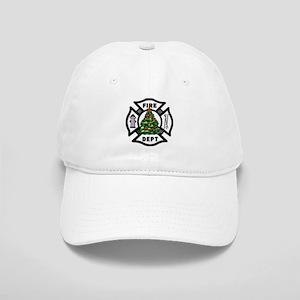 Firefighter Christmas Tree Cap