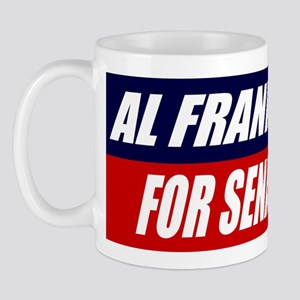 AL FRANKEN FOR SENATE BUMPER Mug